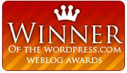 Weblog Award Winner